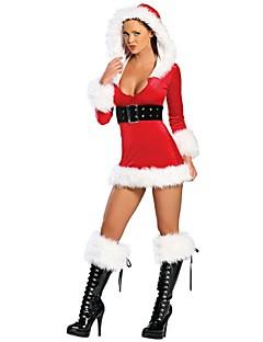 Cosplay Kostuums Rood Textiel Binnenwerk Cosplay Accessoires Kerstmis / Carnaval