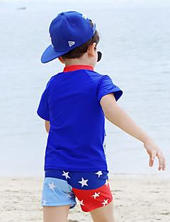 לילדים נושם דחיסה נוח טרילן חליפת צלילה בגדי ים-שחייה קיץ אנימציה