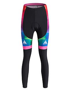 ספורטיבי מכנסי רכיבה לנשיםנושם / שמור על חום הגוף / ייבוש מהיר / עמיד / בטנת פליז / חדירות גבוהה לאוויר (מעל 15,000 גרם) / תומך זיעה /