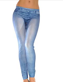 Women Solid Color / Print / Denim LeggingPolyester/hot sale/brand fashion/high quality
