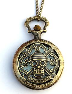 Hodiny / hodinky Inspirovaný One Piece Eren Jager Anime Cosplay Doplňky Hodiny / hodinky Zlatá Stop Pánský