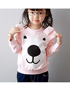 Girl's Casual/Daily Print BlouseCotton Fall Pink