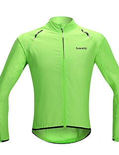 SANTIC® Cycling Jacket Women's / Men's / Unisex Long Sleeve BikeWaterproof / Quick Dry / Windproof / Rain-Proof / Sunscreen / Ultra Light