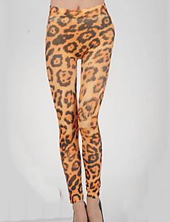 Women's Leopard Gold Slim PantsSexy Fall