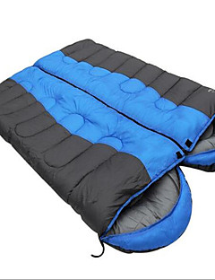 Sleeping Bag Double Wide Bag Double -5-15 Hollow Cotton 2000g 220X75Hiking / Camping / Beach / Fishing / Traveling / Hunting / Outdoor /