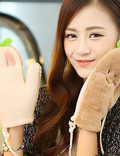 женщины полиэстер кончики пальцев длина запястья, пэчворк мило зима