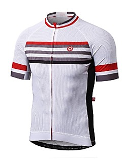 Sports Men's Short Sleeve BikeBreathable / Quick Dry / Ultraviolet Resistant / Anti-Eradiation / Wearable / Antistatic / High