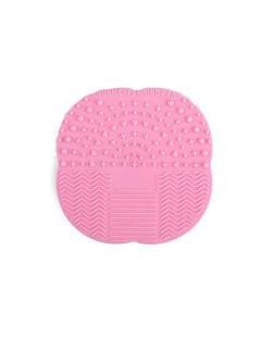 новый силиконовый коврик мыть макияж кисти очистить скрубберы силиконовая присоска отмыть коврик инструменты площадку красоты макияж
