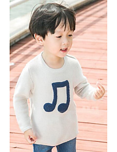 Boy Going out / Casual/Daily Solid Blouse,Cotton All Seasons