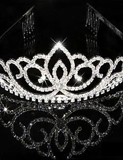 Vrouwen Bergkristal Kristallen Helm-Bruiloft Speciale gelegenheden Tiara's