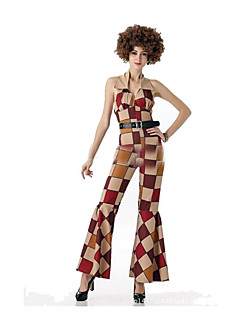 Festival/Holiday Halloween Costumes Brown Plaid Leotard/Onesie / Belt Halloween / Christmas / Carnival Female