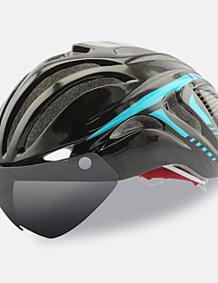 לנשים / לגברים / יוניסקס אופניים קסדה 18 פתחי אוורור רכיבת אופניים רכיבה על אופניים / רכיבה על אופני הרים / רכיבה בכביש מידה אחת One Size