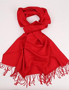Unisex Vintage / Na běžné nošení Kašmír / Hedvábí Šátek,Obdélníkový Jednobarevné