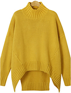 Fashion Large yards women Long sleeves Loose Hedging In the long section Sweater