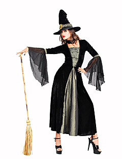 Wizard/Witch Festival/Holiday Costumes Dress Female Polyester