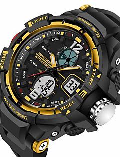 SANDA Pánské Sportovní hodinky Vojenské hodinky Chytré hodinky Módní hodinky Náramkové hodinky Digitální Japonské QuartzLED Chronograf