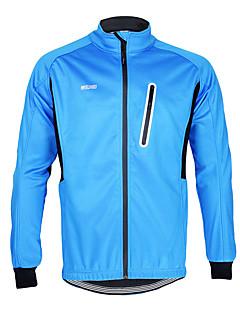 Men's Long Sleeve Bike Waterproof / Breathable / Fleece Lining / Front Zipper / High Breathability (>15,001g) Sweatshirt / Tracksuit