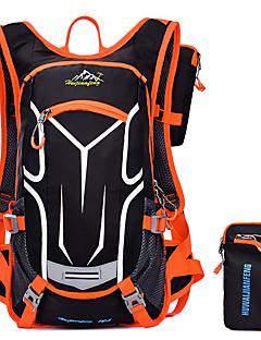 Unisex Tašky Celý rok Nylon Batoh s pro Sport Oranžová Žlutá Červená Zelená Modrá