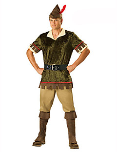 Cosplay Kostüme Party Kostüme Maskerade Soldat/Krieger Karriere Kostüme Fest/Feiertage Halloween Kostüme Braun DruckTop Hosen Gürtel