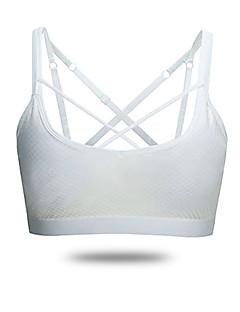Esportivo®Ioga Sutiã Esportivo Respirável / Materiais Leves / Confortável Stretchy Wear Sports Ioga / Pilates Mulheres