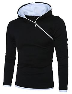 Sweat à capuche Homme Grandes TaillesSoirée Anniversaire Soirée / Fête Quotidien Décontracté Formel Vêtements de Plein Air Retour