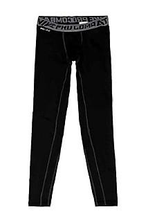 Jóga kalhoty Cyklistické kalhoty Prodyšné / Pohodlné Přírodní Natahovací Sportovní oblečení Černá Pánské SportovníJóga / Pilates /