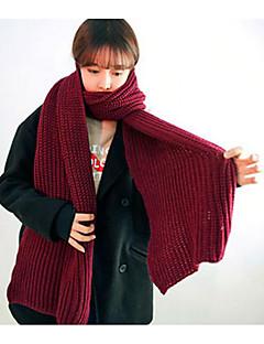 Unisex Na běžné nošení Akryl Šátek,Obdélníkový Jednobarevné