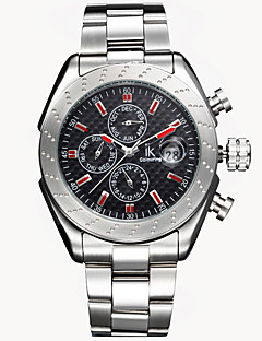 Men's Fashion Watch Mechanical Watch Wrist watch Calendar Water Resistant / Water Proof Automatic self-winding Stainless Steel Band Cool