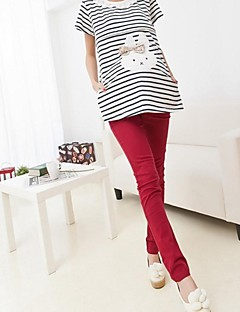 Maternity Bodycon/Casual Skinny Pants , Cotton Blends Micro-elastic