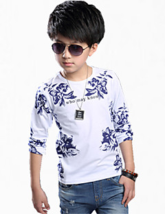Boy Casual/Daily Color Block Hoodie & Sweatshirt,Cotton Winter Long Sleeve Regular