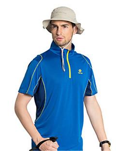 男性用 半袖 速乾性 防風 高通気性 Tシャツ トップス のために ヨガ テコンドー 登山 ゴルフ レジャースポーツ スリム M L XL XXL