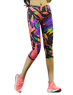 Women's Running Pants/Trousers/Overtrousers 3/4 Tights Bottoms Breathable Quick Dry Compression Lightweight Materials Sweat-wickingSpring