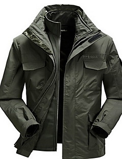 Hiking Tops Men's Waterproof / Thermal / Warm / Windproof / Insulated / Comfortable Spring / Fall/Autumn / Winter ChinlonArmy Green /