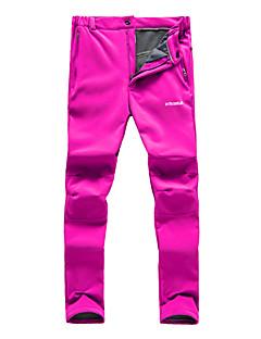 Miesten Naisten Softshell-housut Vedenkestävä Pidä lämpimänä Nopea kuivuminen Tuulenkestävä Ultraviolettisäteilyn kestävä Eristetty