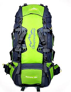 80 L Randonnée pack Sac à dos Cyclisme sac à dos Escalade Sport de détente Cyclisme/Vélo Camping & RandonnéeEtanche Respirable Résistant