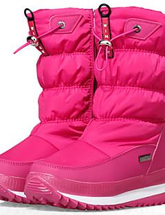 מגפיים-לילדים בנות יוניסקס נערים-סקי ספורט שלג מורד(לבן אדום שחור)