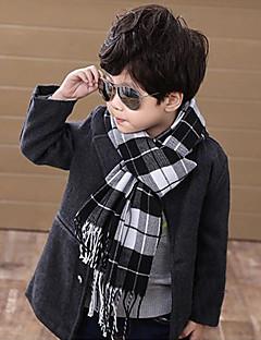 女性 男の子用 スカーフ,コットン 冬 ブラック グリーン