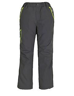 Děti Kalhoty Lyže Outdoor a turistika Voděodolný Prodyšné Zahřívací Větruvzdorné Jaro Podzim Zima Červená Černá AzurováXS S M L XL XXL