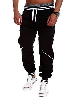 Pánské Koşu Pantolonları Propustnost vůči vlhkosti Prodyšné Pohodlné Kalhoty Tepláková souprava Spodní část oděvu pro Jóga Fitness
