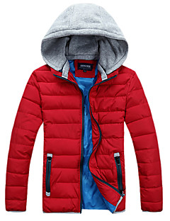 Men's Jacket / Winter Jacket / Tops Camping / Hiking / Snowsports Thermal / Warm / Lightweight Materials Spring / Fall/Autumn / WinterM /