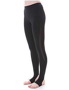 Yogabukser Tights Leggings Pustende Fort Tørring Komprimering Ultralett stoff Høy Stretch Drakter Dame Yokaland®Yoga & Danse Sko Pilates