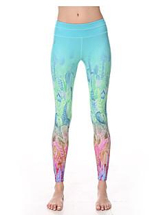 Jóga kalhoty Cyklistické kalhoty Prodyšné Rychleschnoucí Komprese Ultra Hafif Kumaş Natahovací Sportovní oblečení Dámské Yokaland®Jóga