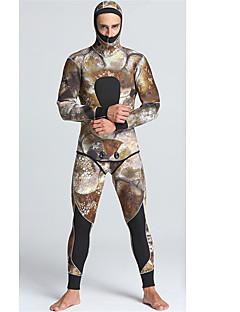 Férfi 5mm Nedves ruhák Drysuits Szörfoverall Vízálló Melegen tartani Viselhető Kényelmes Nejlon gumi LYCRA Búvárruha Vízhőbuvárruha-Úszás