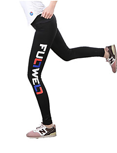 Yoga Pants Tights Breathable Quick Dry High Breathability (>15,001g) Ultra Light Fabric Lightweight Materials Stretchy Sports Wear Black