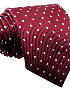 Masculino Gravata Vermelho,Vintage Fofo Festa Trabalho Casual Poás Raiom Todas as Estações