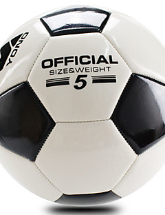 Høy Elastisitet Holdbar-Fotball(Hvit Svart,PVC)