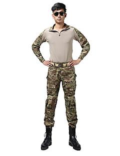 남녀 공용 의류 세트/수트 수렵 통기성 착용 가능한 봄 여름 가을 겨울 캐모플라지
