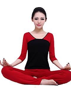 Yoga Kleidungs-Sets Atmungsaktiv Komfortabel Dehnbar Sportbekleidung DamenYoga