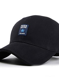 כובעים לגברים / יוניסקס ראש כדור בסיס / ספורט חורף צהוב / שחור / כחול בד / ניילון