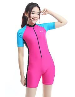 BlueDive® Damen Neopren-Shorty Neopren- Dive SkinsRasche Trocknung UV-resistant Reißverschluß vorne Videokompression Vier-Wege-Stretch